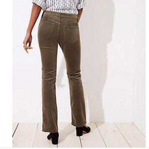 Ann Taylor LOFT Modern Straight Corduroy Jeans